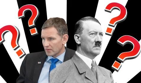 Höcke oder Hitler? Nationalsozialistische Sprache gestern und heute