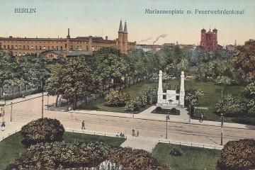 Mariannenplatz mit Bethanien. Sammlung: U. Horb