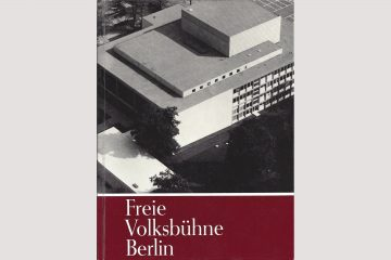 "Cover ""Freie Volkbühne Berlin"", Stapp Verlag 1965"