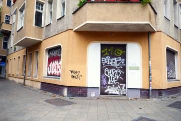 """Schulstraße: Hier befand sich in den dreißiger und vierziger Jahren die Eckkneipe """"Zur weißen Taube"""". Foto: Horb"""