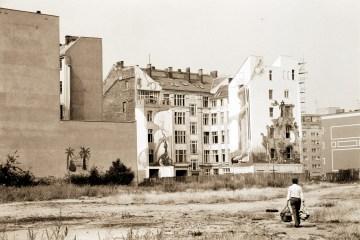 Unbebaute Grundstücke an der Friedrichstraße. Foto: Ulrich Horb