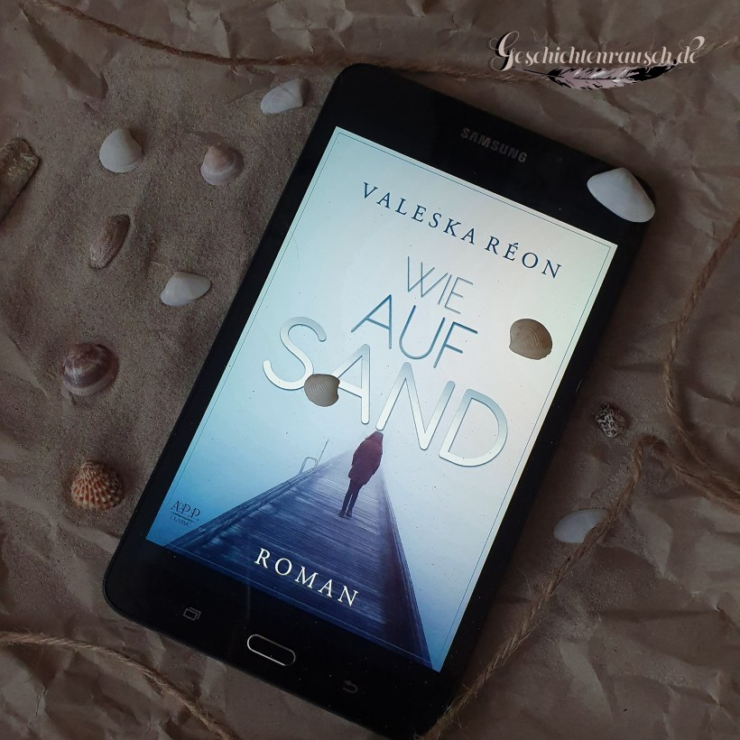 Wie auf Sand Book Cover