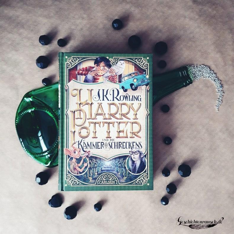 Cover von Harry Potter und die Kammer des Schreckens von J. K. Rowling