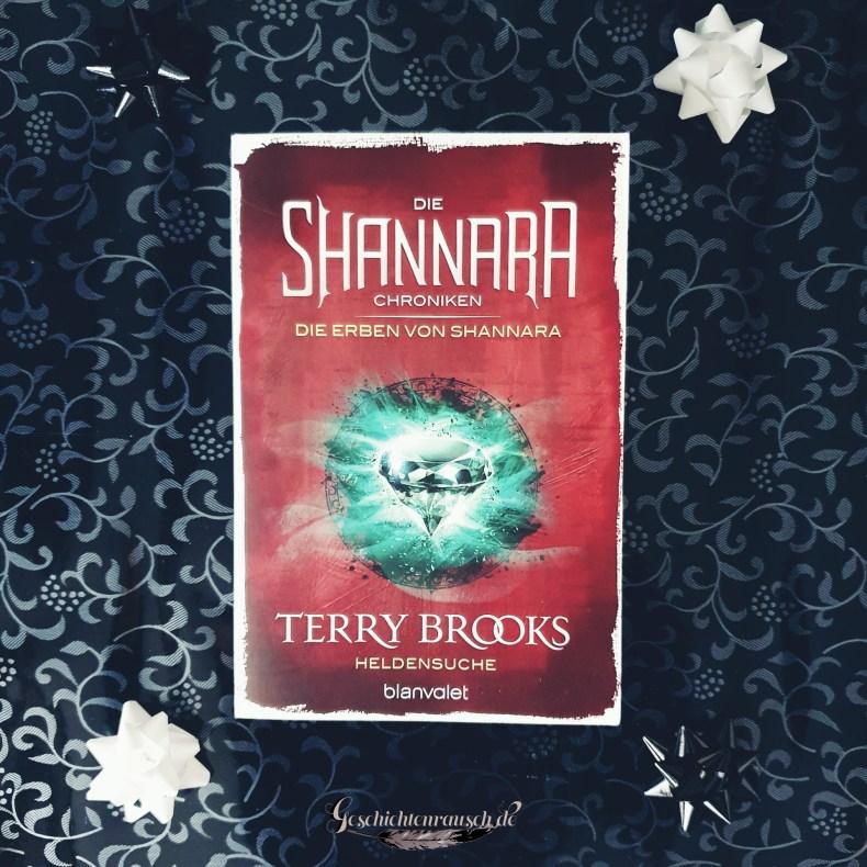 Cover von Die Erben von Shannara - Heldensuche von Terry Brooks
