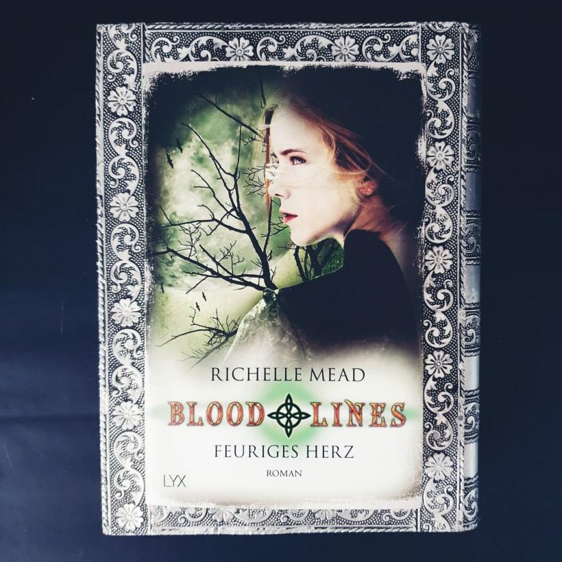 Cover von Bloodlines - Feuriges Herz von Richelle Mead