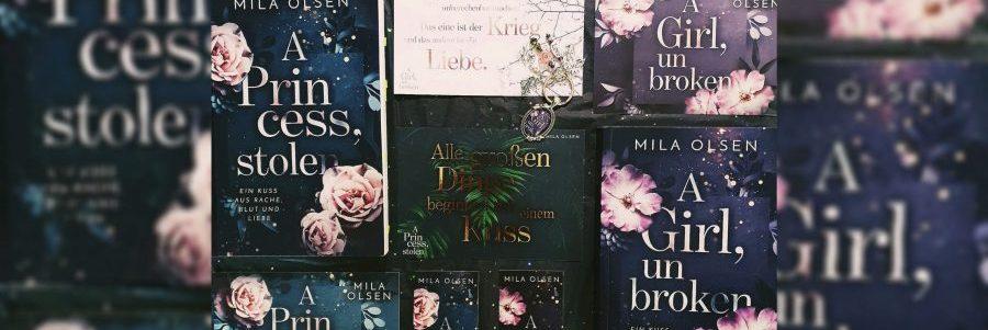 Rezension zu A Princess, Stolen von Mila Olsen