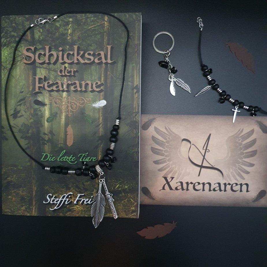 Xarenaren-Schmuckset und Schicksal der Fearane Die letzte Tiare von Steffi Frei