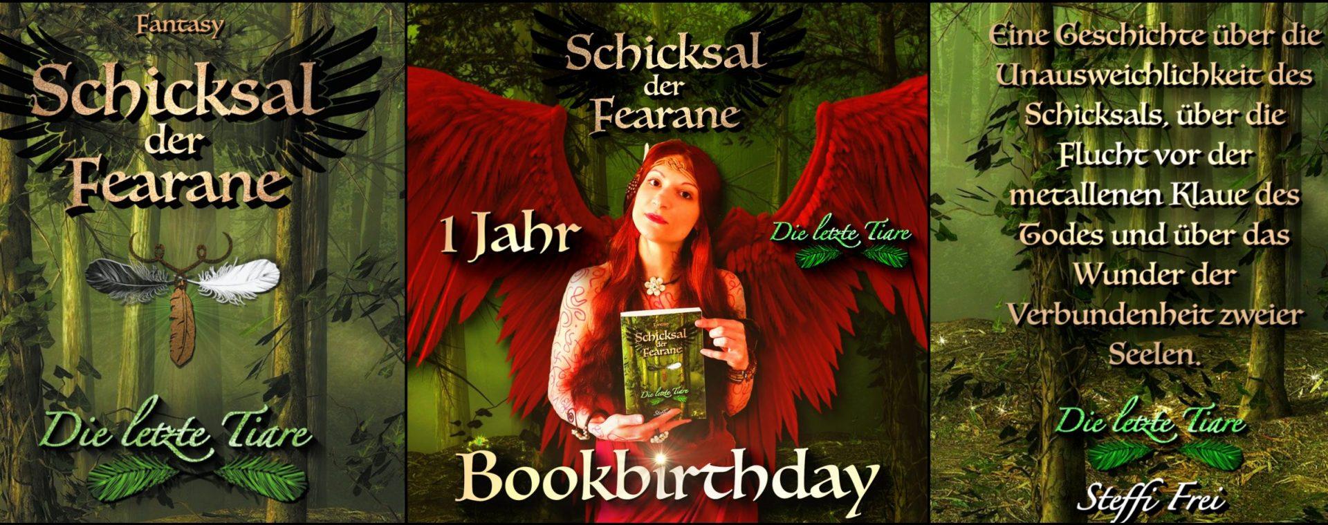 """Bookbirthday: 1 Jahr """"Die letzte Tiare"""" von Steffi Frei"""