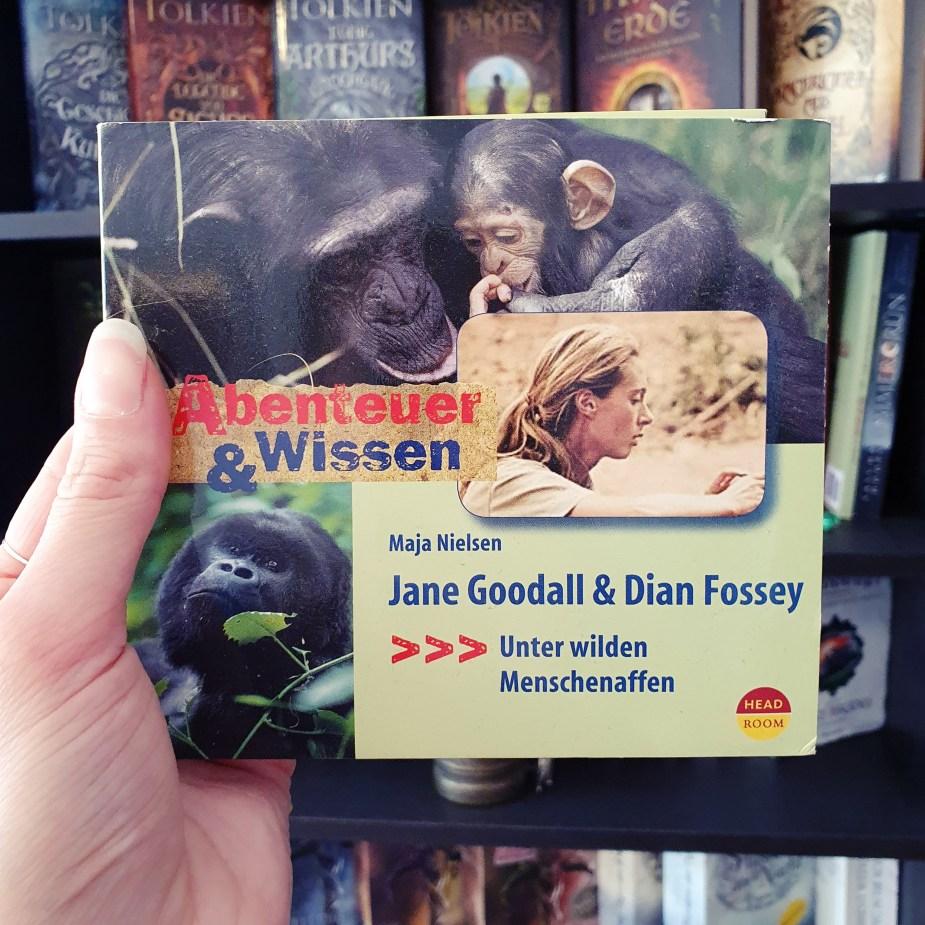 Jane Goodall & Dian Fossey: Unter wilden Menschenaffan von Maja Nielsen