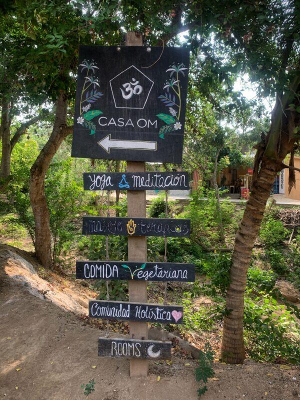 Casa Om Yoga Mazunte Mexiko