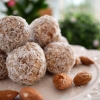 Kokos-Mandel-Bällchen | Eiweißreiche Raw Balls