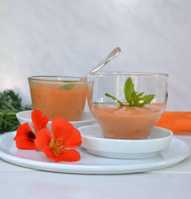 Karottenschaum
