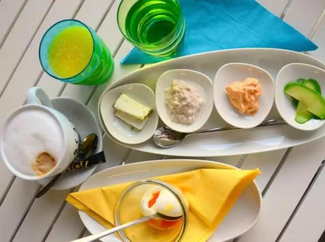 Die Frühstücksbar