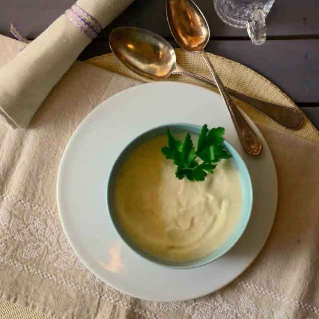 Sellerie-Kartoffel-Suppe