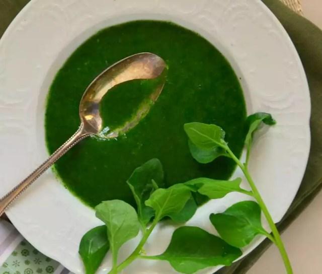 Vegane Neuseeland-Spinat-Suppe