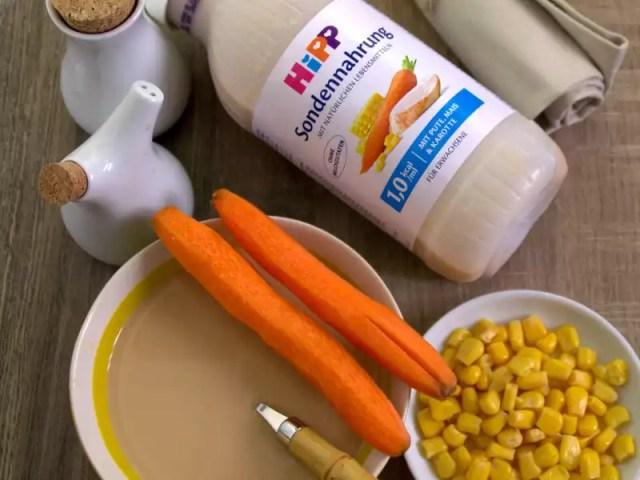 HIPP Sondennahrung und Suppenteller