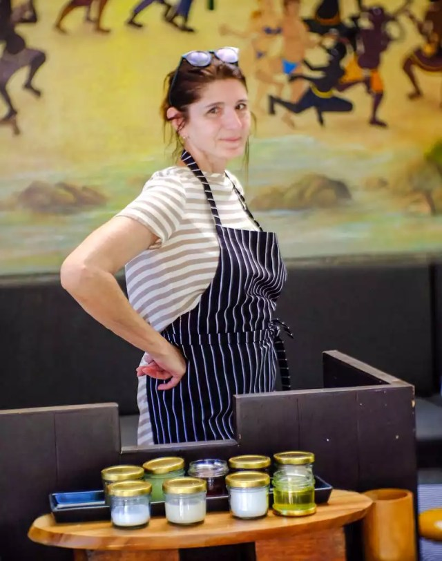 Claudia Braunstein Cooking class