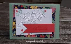 Stampi up, Lieblingsmensch, Bezaubernde Blüten, Muster für Dich