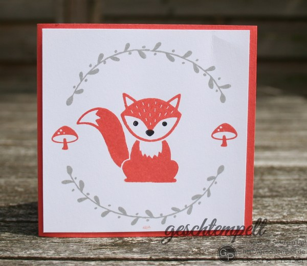 Stampin up, Foxy Friends