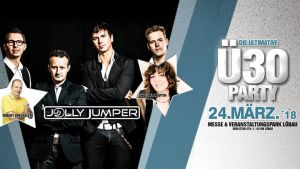 Die große Ultimative Ü30 Party mit Jolly Jumper uvm