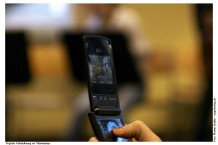 Digitale Aufzeichnung mit Videohandy