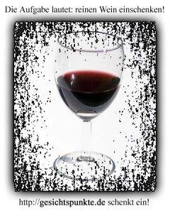 Reinen Wein einschenken - gesichtspunkte.de
