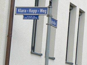 Klara-Kopp-Weg (Quelle: Christoph Sinnen)