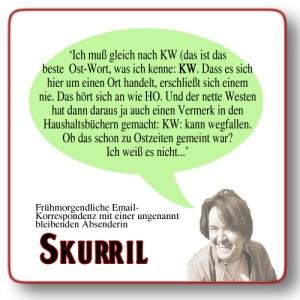 Skurril: Königs Wusterhausen