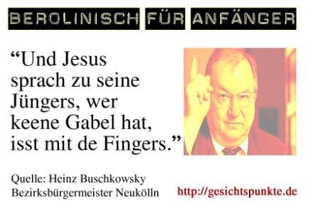 Berolinisch für Anfänger: Heinz Buschkowsky