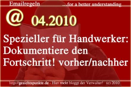 Emailregeln 04.2010