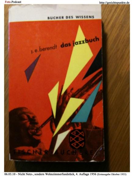 Foto.Podcast: E.J. Behrendt - Das Jazzbuch (Erstausgabe 10.1953)
