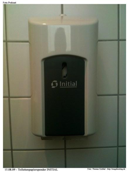 Foto.Podcast: Toilettenpapierspender Initial