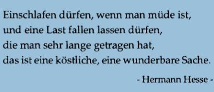 Ausriss aus Todesanzeige - Herrmann Hesse