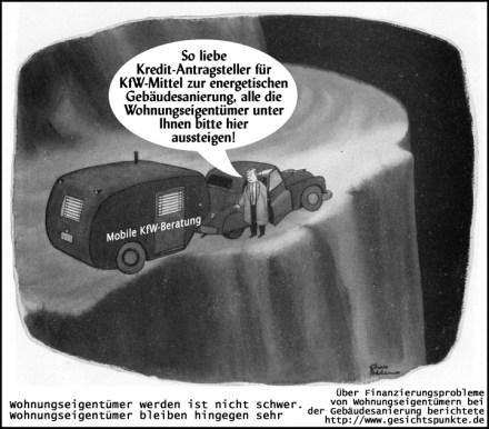 Kreditanstalt für Wiederaufbau (kfw) - Aussteigen!