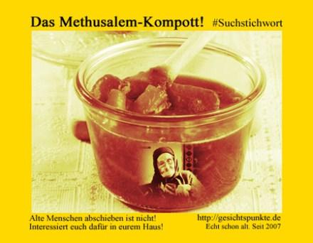 Banner Methusalem-Kompott!