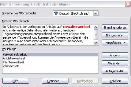 """Korrekturhilfe """"Verwalterwechsel"""""""
