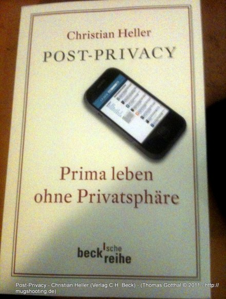 Post-Privacy - Christian Heller (Verlag C.H. Beck)