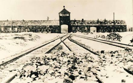 Auschwitz-Birkenau (Historienfoto)
