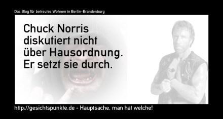 Chuck Norris: Hausordnung