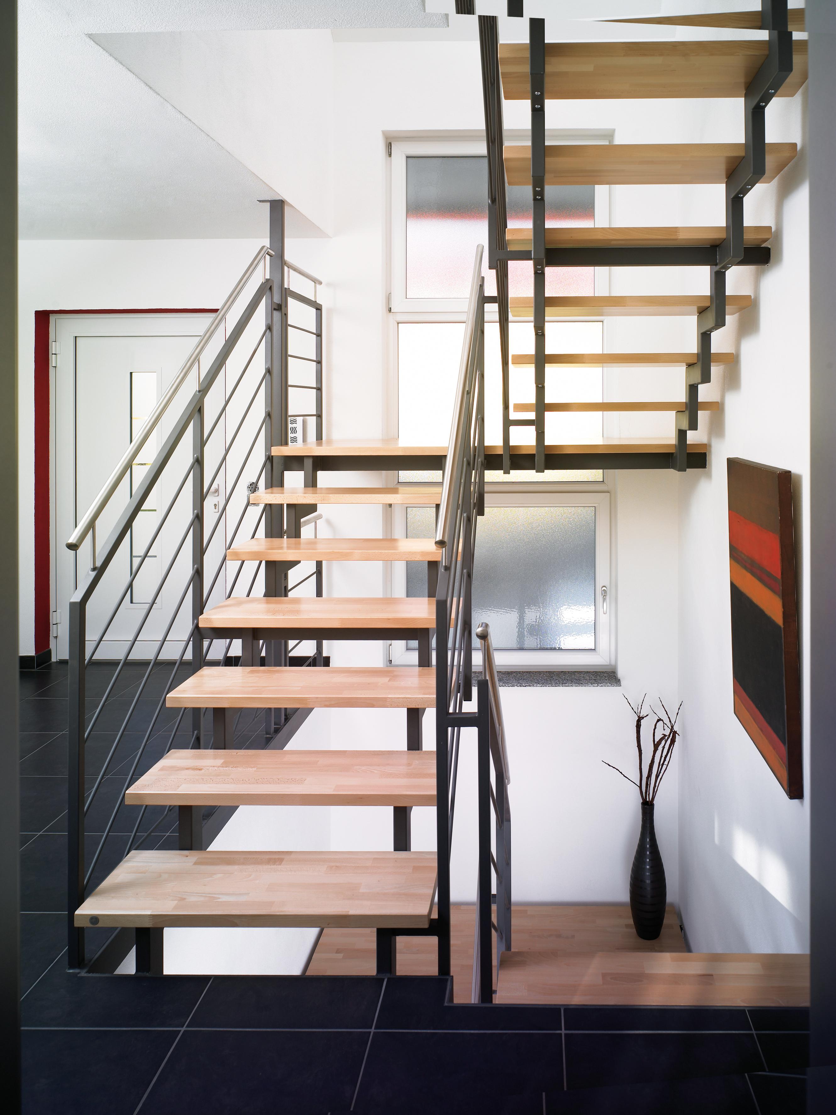 Komfortabel, sicher, monumental: Treppen mit Podest