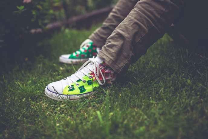 handmade sneakers