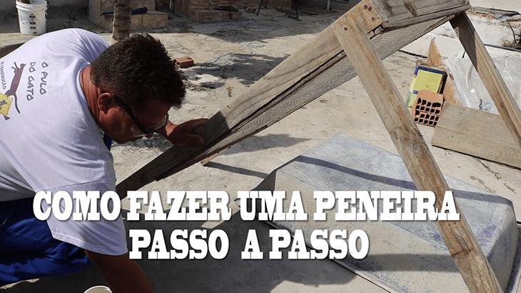 Construção de Peneira