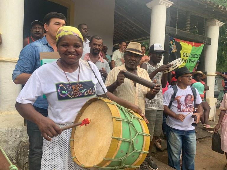 Ministério entrega imissão de posse de território quilombola em Alagoa Grande