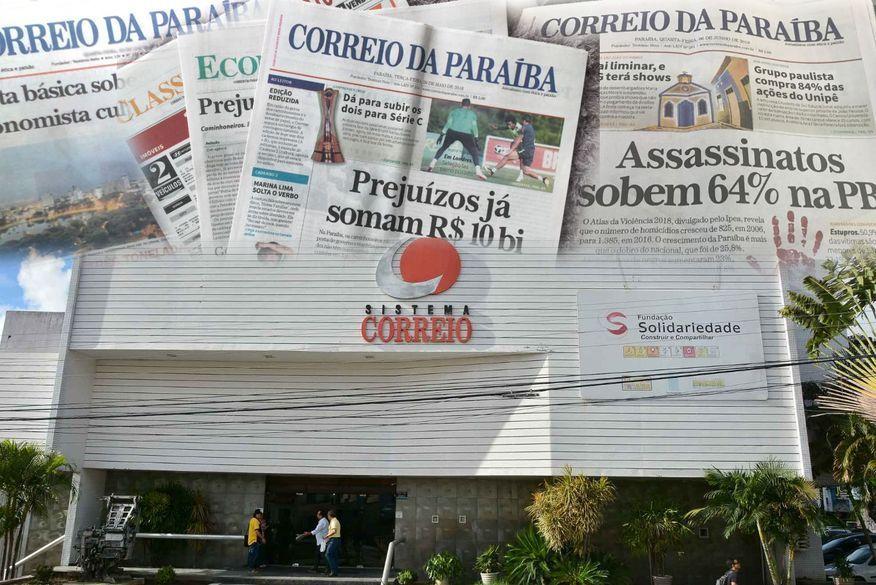 Fim do impresso: Jornal Correio da Paraíba encerra atividades após 66 anos
