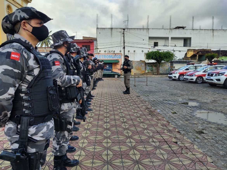 Em Sapé, Operação Impacto atua em crimes contra a vida e o patrimônio