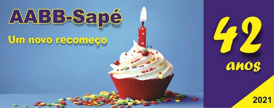 AABB-Sapé comemora 42 anos de fundação