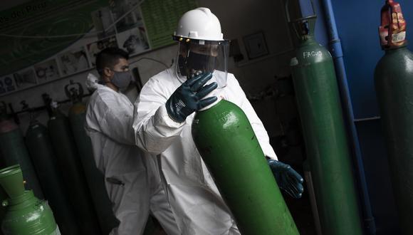 COVID-19 | Perú recibe veinte toneladas de oxígeno medicinal desde Ecuador  | PERU | GESTIÓN