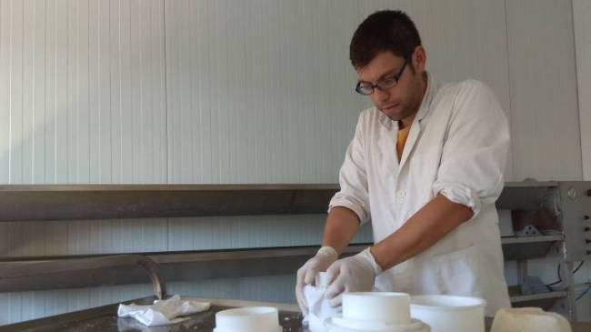 Revolución en la elaboración de queso de oveja, Jordi Benegas