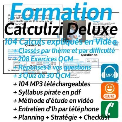 Formation gestion de base en vidéo Calculizi Deluxe