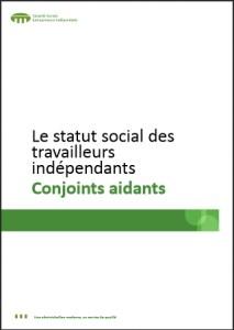 Statut social des travailleurs indépendants: Conjoints aidants